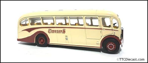 CORGI 97181 AEC REGAL/DUPLE - Timpson's  * PRE OWNED *